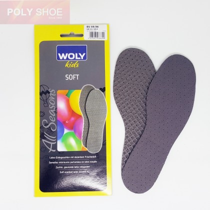 WOLY SOFT SCENTED LATEX INSOLE FOR KIDS